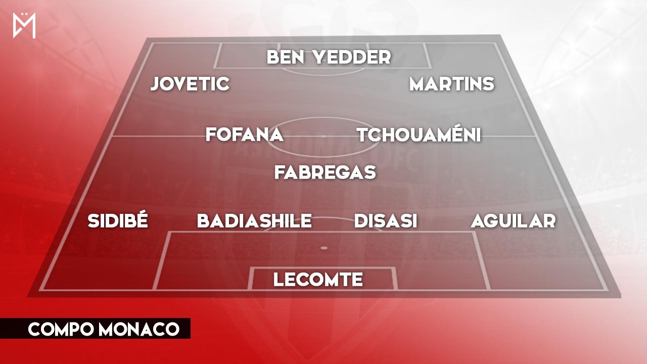 Monaco (4-1) :