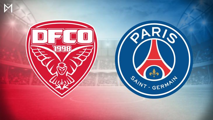 Dijon-PSG : les équipes de départ