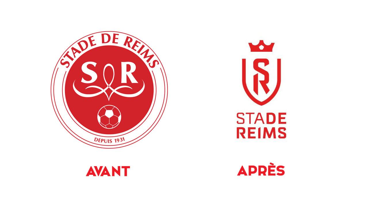 Le Stade De Reims Devoile Son Nouveau Logo