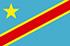 Drapeau du pays : RD du Congo