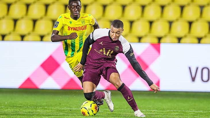 Appiah Mbappé Nantes PSG
