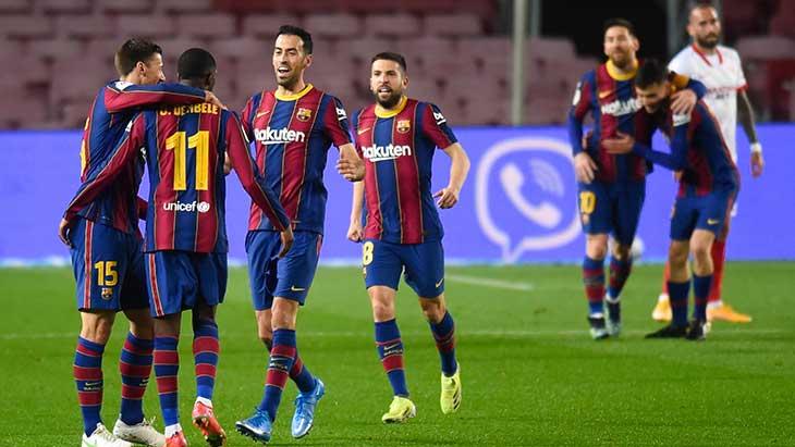 Barça joie Séville