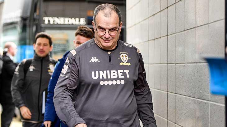 Ang. : Leeds et Bielsa à un point de la montée !