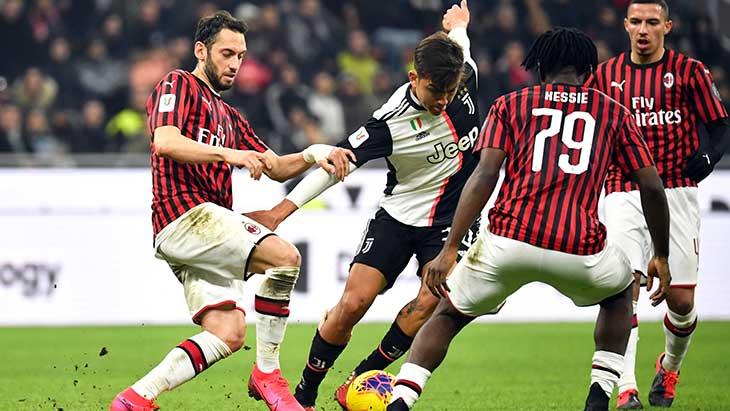 Coupe d'Italie : la Juventus écarte l'AC Milan et file en finale