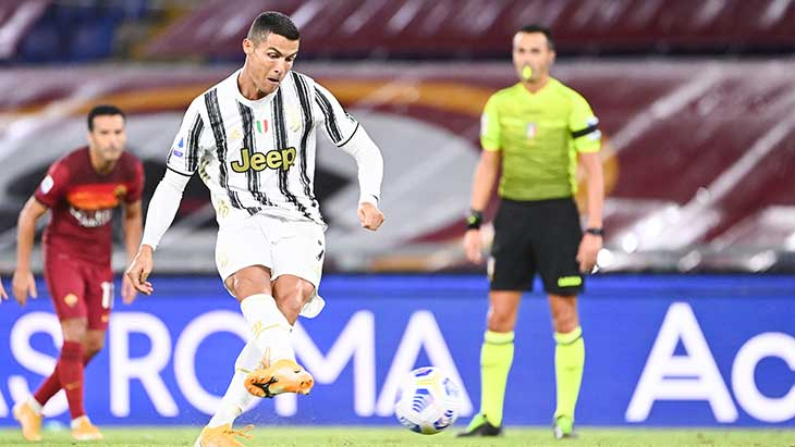 Cristiano Ronaldo très satisfait d'Andrea Pirlo — Juventus