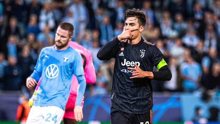 Dybala Juventus Malmo