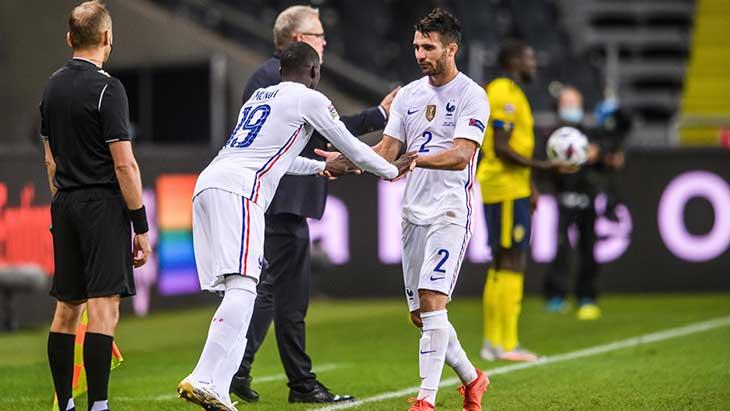 Equipe de France : Ferland Mendy remplace Léo Dubois positif au Covid-19 !