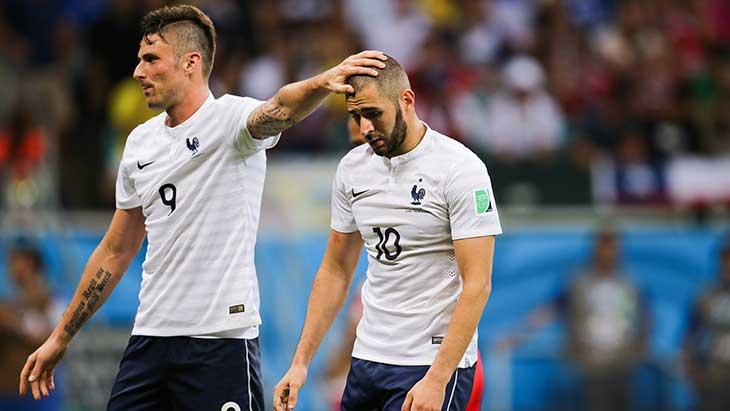 Les regrets de Giroud envers Benzema — Équipe de France