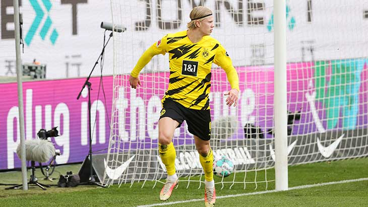 haaland-celebration-wolfsburg-dortmund-but