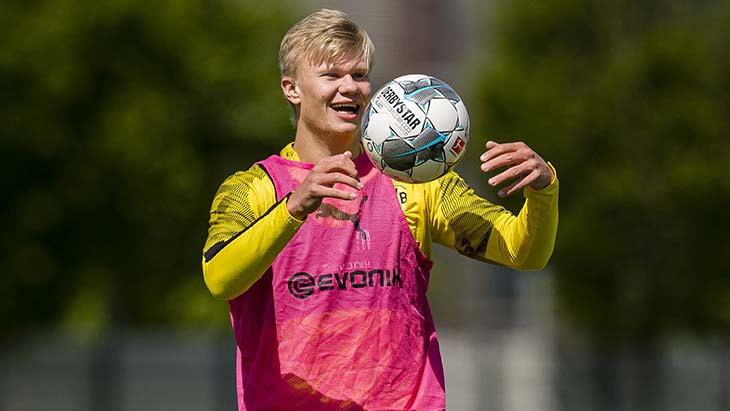 haaland-dortmund-smile-training