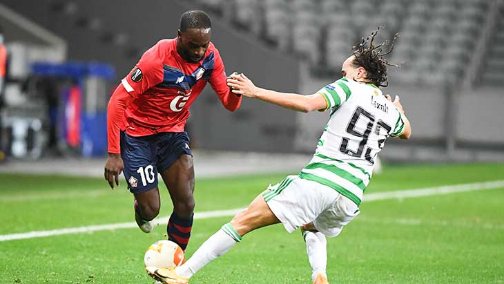 Le LOSC fait le point face au Celtic, Milan bat tranquillement Prague