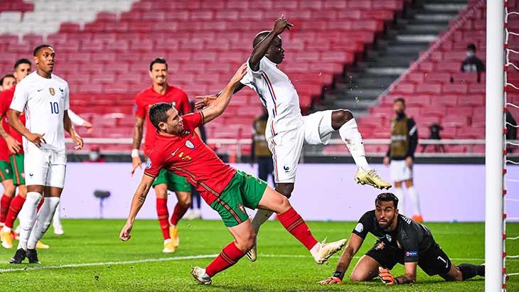 Kanté but Portugal France