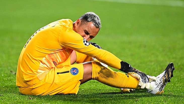 Keylor Navas très incertain pour la demi-finale — PSG