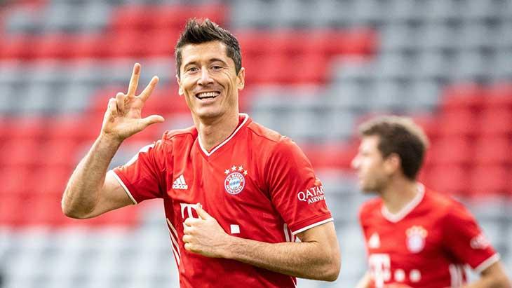 Lewandowski porte le Bayern — All