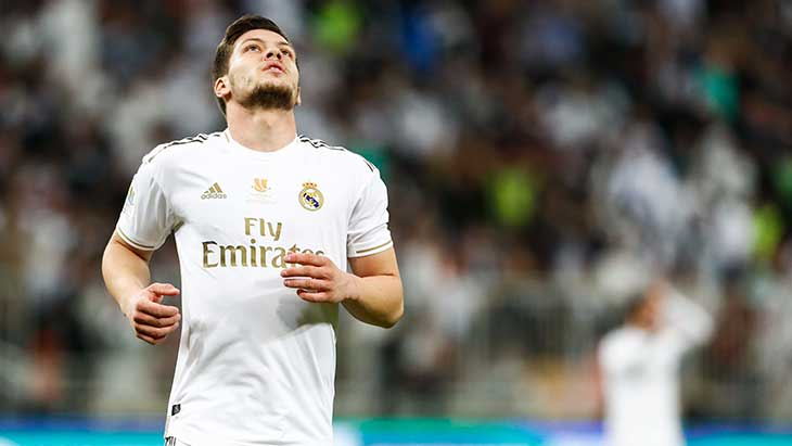 Luka Jovic (Real Madrid) en quarantaine — Coronavirus