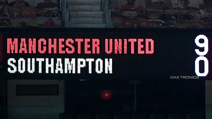 manchester-southampton-score