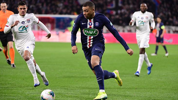 Coupe de France : les buts du match OL-PSG (1-5) en vidéo