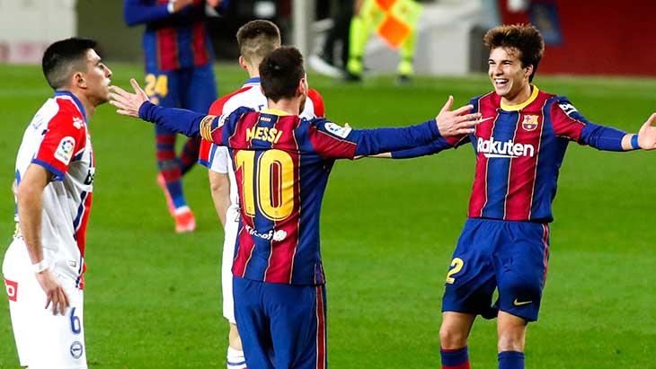 Messi Puig Alaves Barca