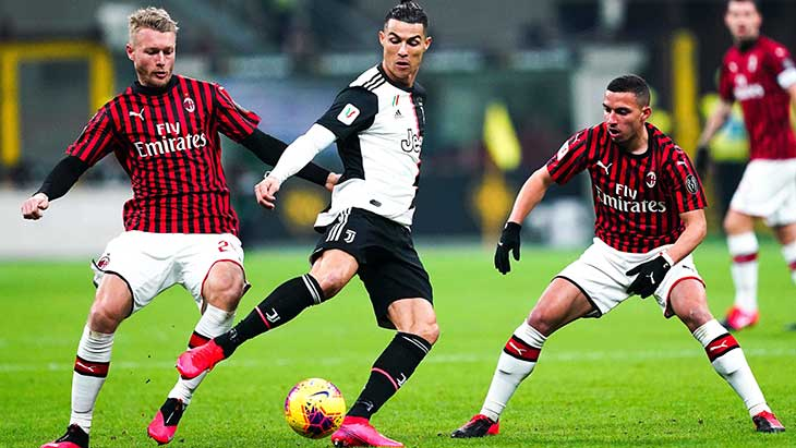 Juventus-Milan: comment regarder le match en streaming