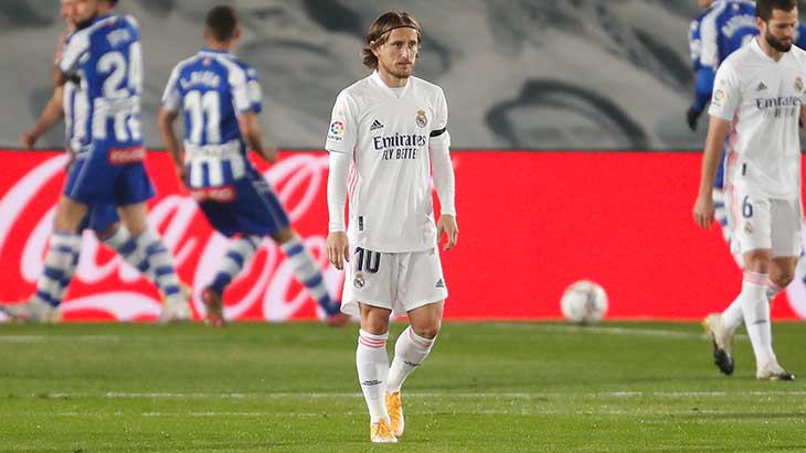 Modric Real alaves
