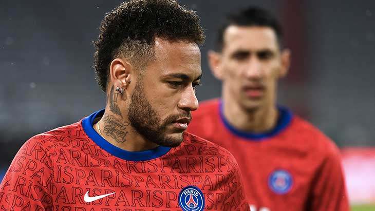 neymar-bayern-psg-training-regard-vide