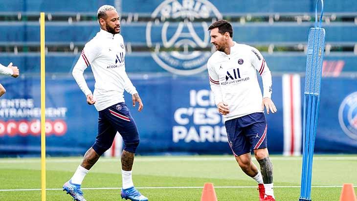 neymar-messi-psg-training