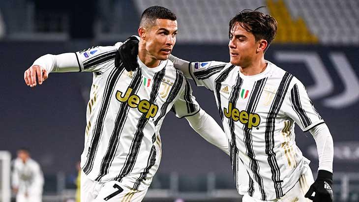 Ronaldo Dybala Juventus Udine