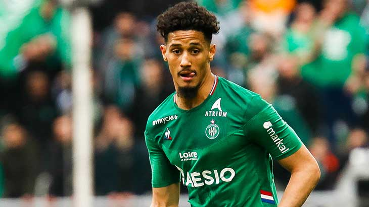 Saint-Etienne : William Saliba pourra jouer la finale de Coupe de France