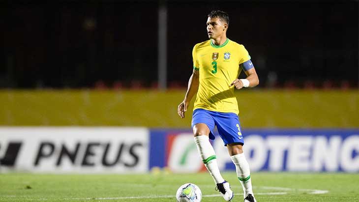 Thiago Silva Brésil Venezuela