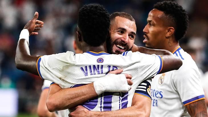 Vinicius Benzema Real Madrid Celta