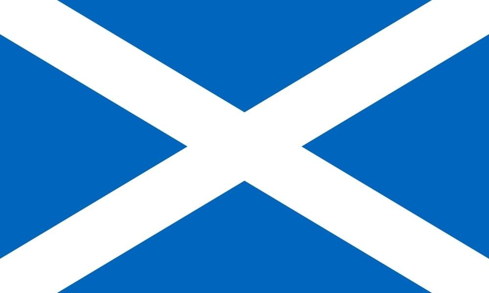 Drapeau du pays : Écosse