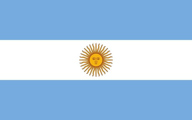 Drapeau du pays : Argentine