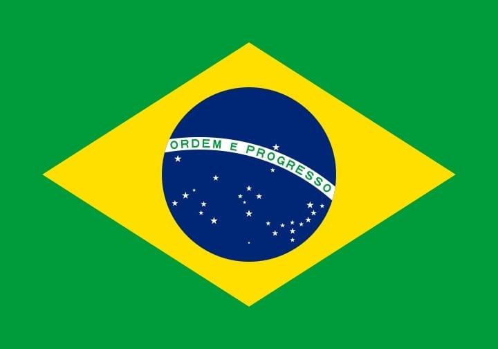 Drapeau du pays : Brésil