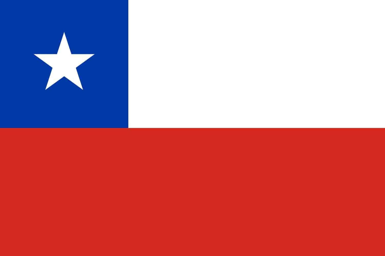 Drapeau du pays : Chili