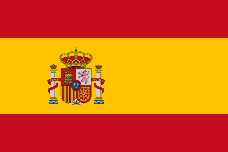 Drapeau du pays : Espagne