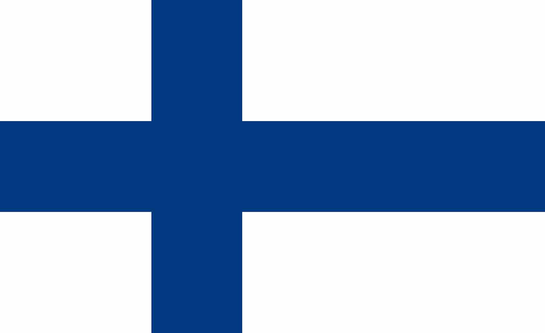 Drapeau du pays : Finlande