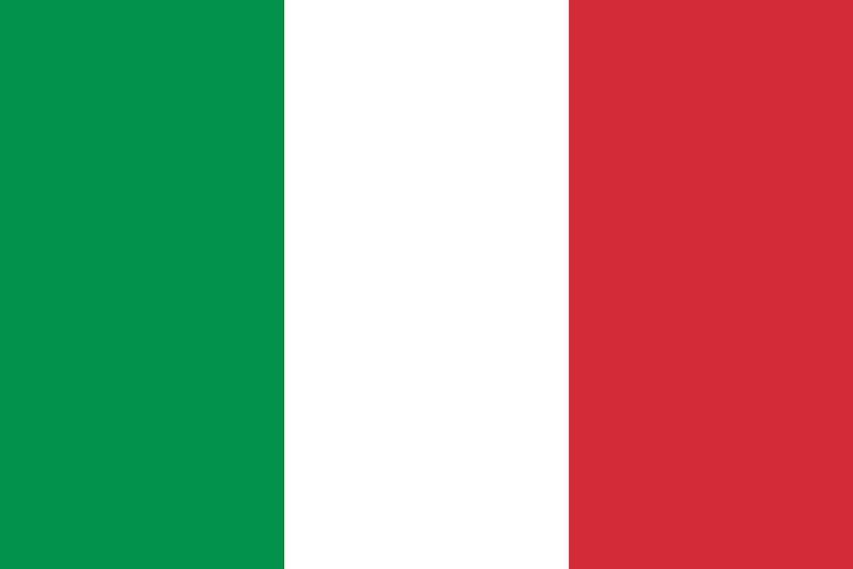 Drapeau du pays : Italie