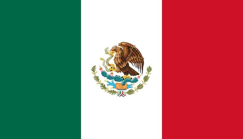 Drapeau du pays : Mexique