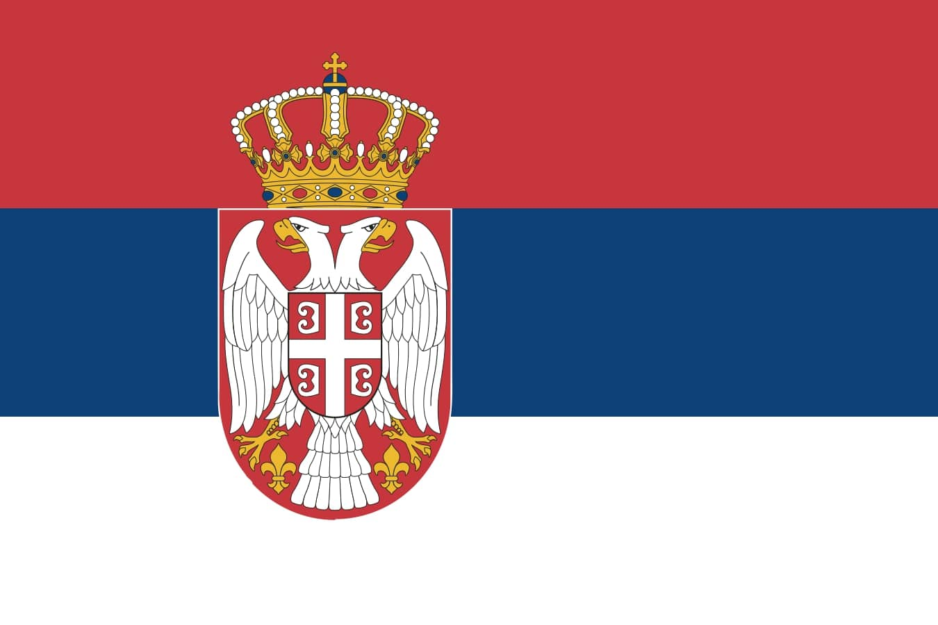 Drapeau du pays : Serbie