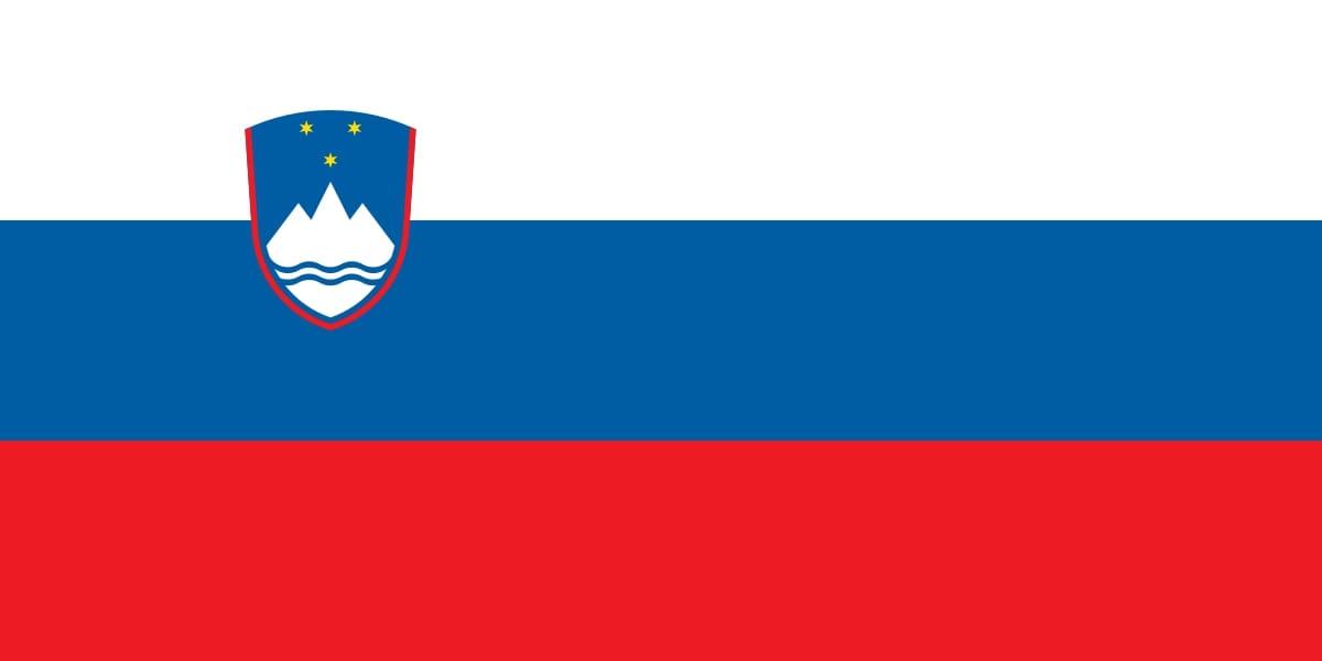 Drapeau du pays : Slovénie