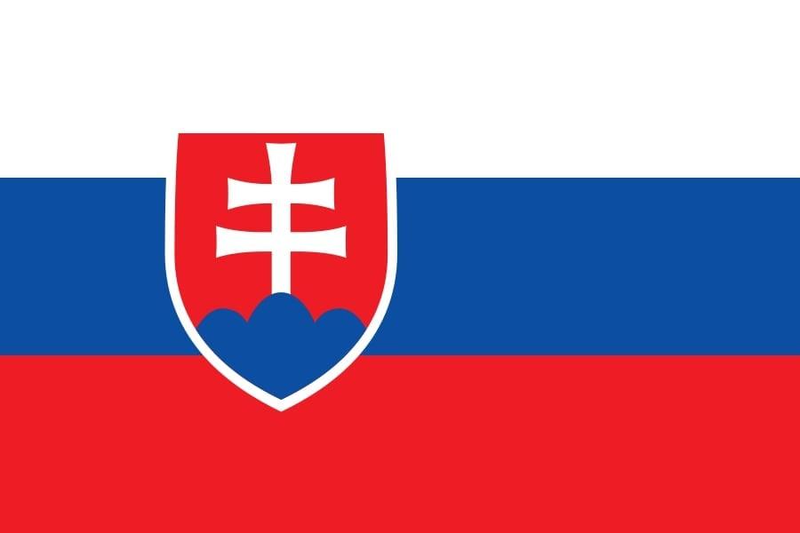 Drapeau du pays : Slovaquie