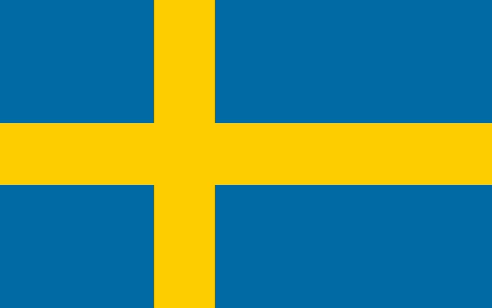 Drapeau du pays : Suède