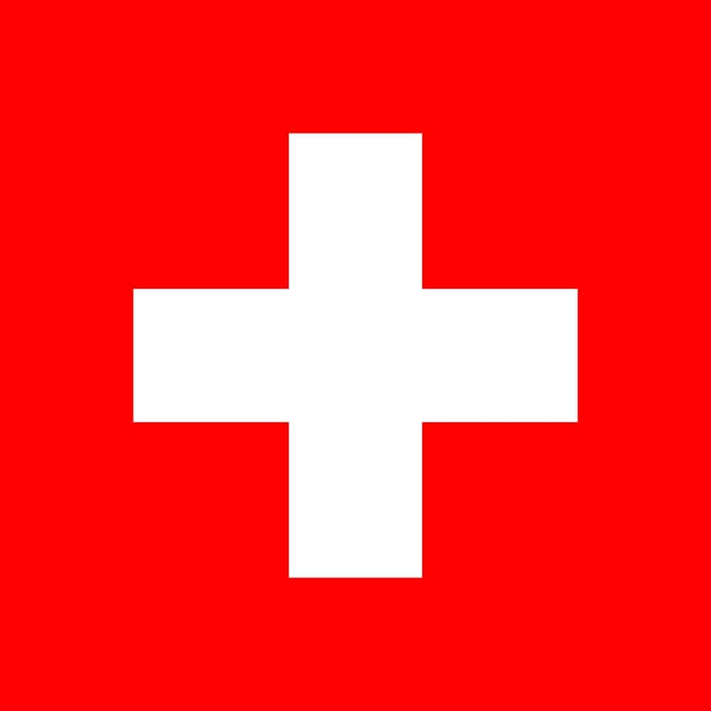 Drapeau du pays : Suisse