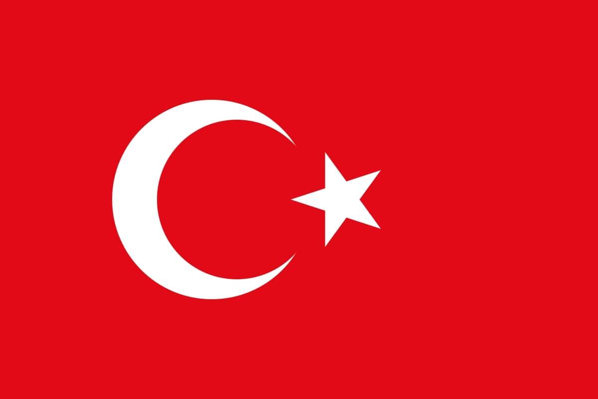 Drapeau du pays : Turquie