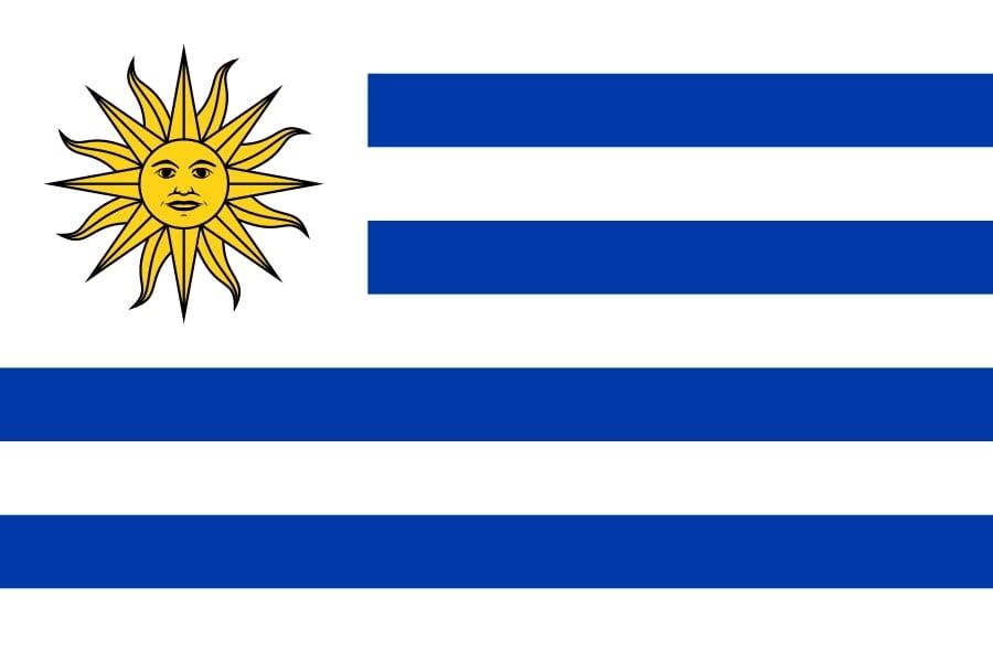 Drapeau du pays : Uruguay